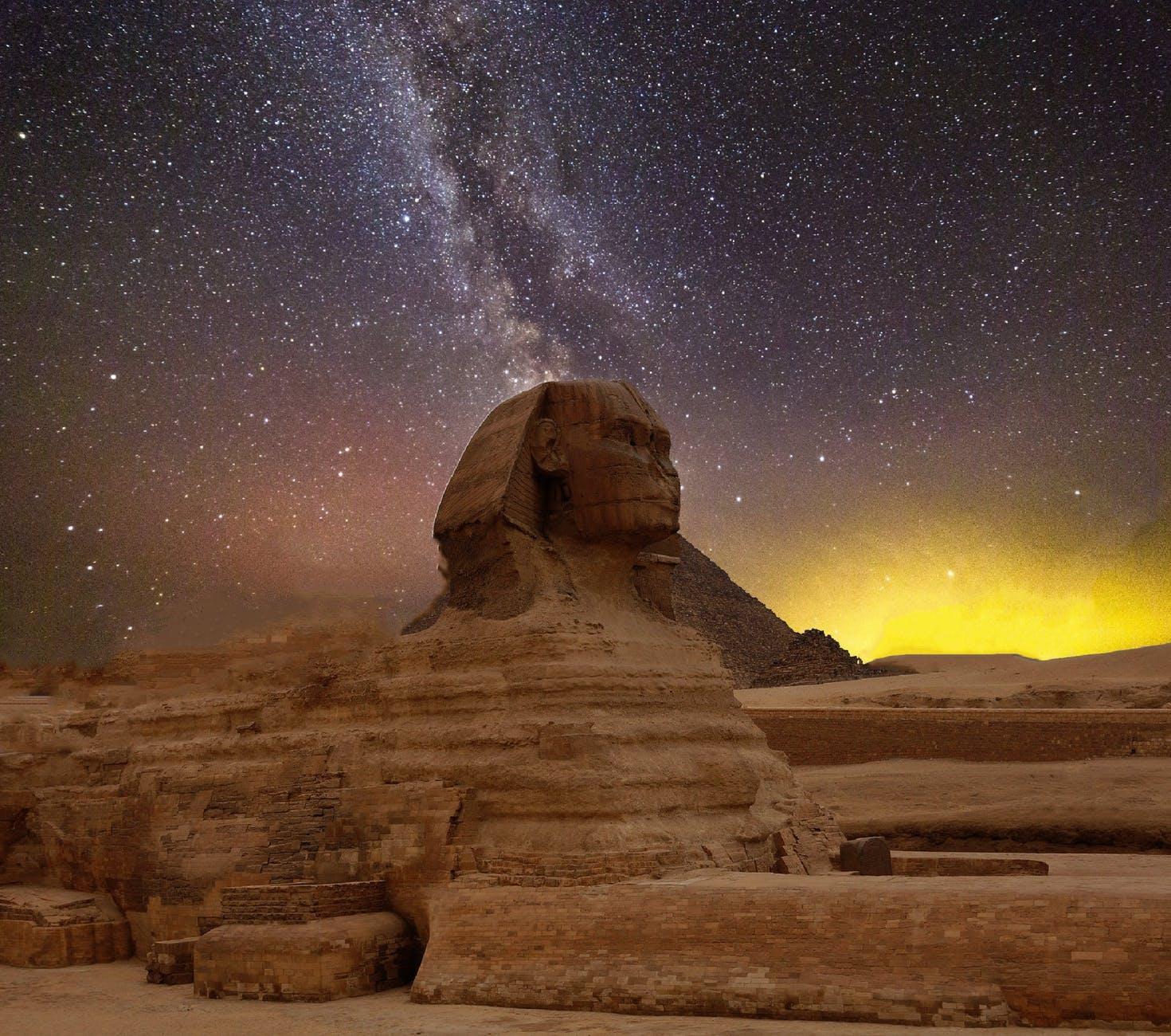 ancient art cosmos dark