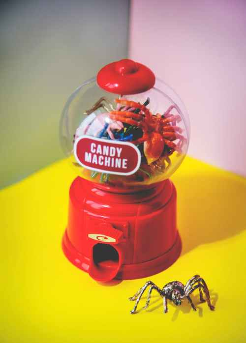 candy machine jar